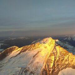 Verortung via Georeferenzierung der Kamera: Aufgenommen in der Nähe von Gemeinde Vals, 6154 Vals, Österreich in 3800 Meter