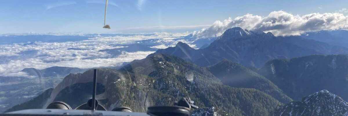 Flugwegposition um 08:05:16: Aufgenommen in der Nähe von Gemeinde Finkenstein am Faaker See, Österreich in 2085 Meter